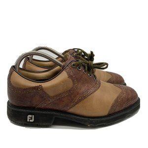 FootJoy Myjoys Wingtip Oxford Golf Shoes